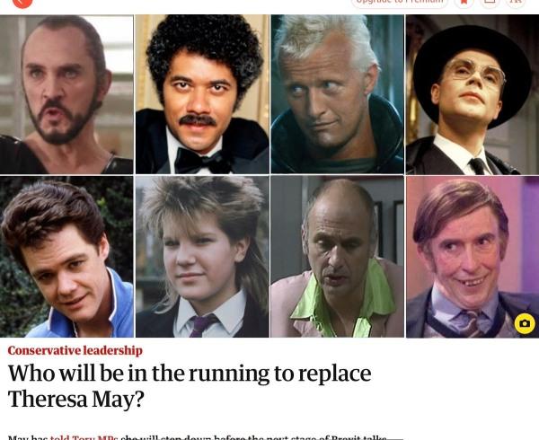 Theresa May replacements