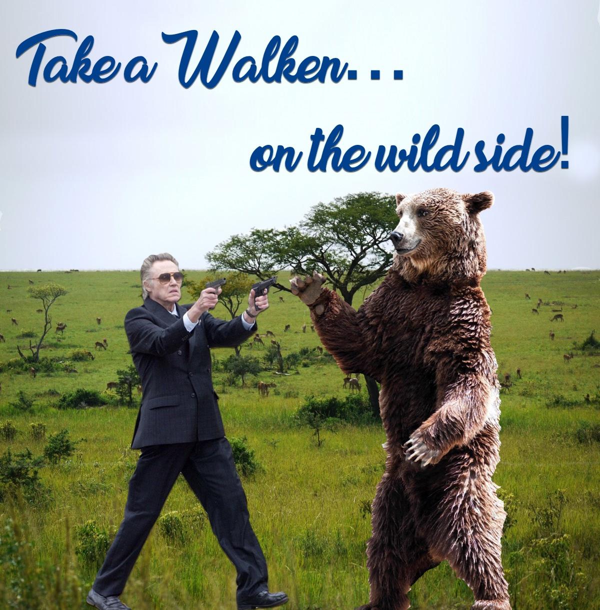 Christopher Walken, on the wild side