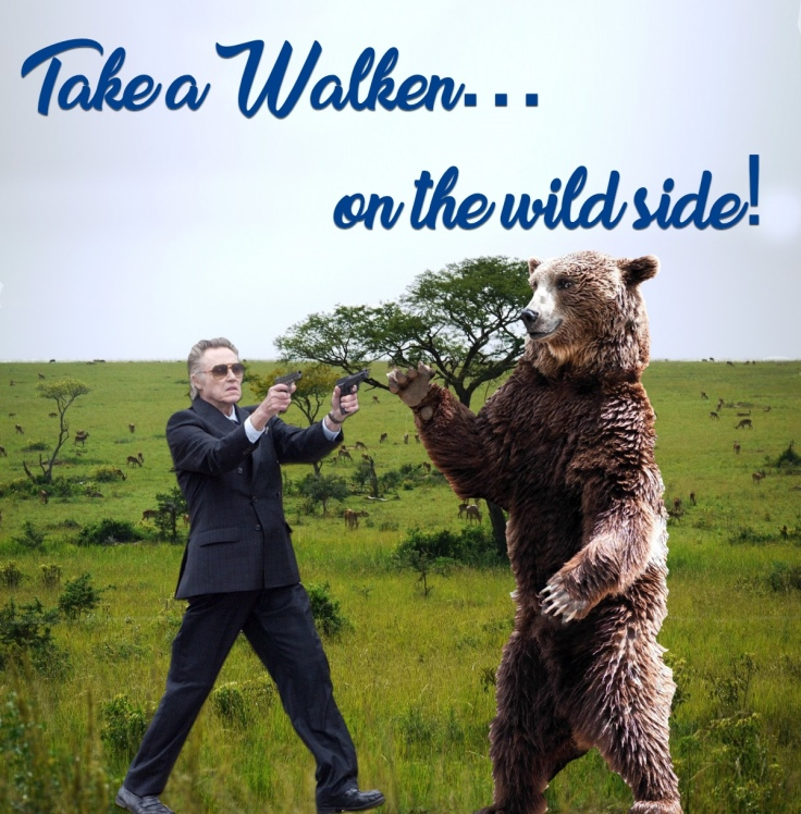 Christopher Walken, on the wild side