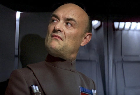 Dominic Cummings as an imperial Officer on the Death Star