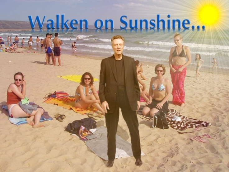 Christopher Walken on Sunshine