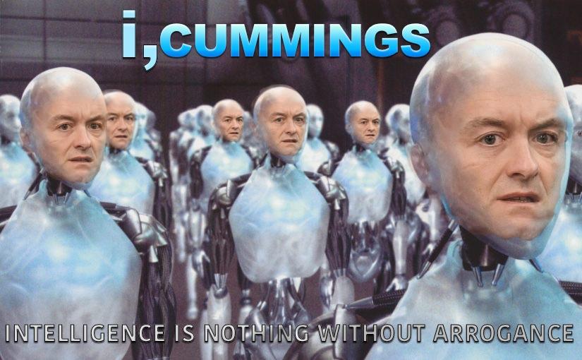 Dominic Cumming, i Robot
