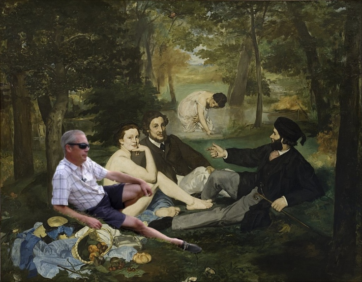 Déjeuner sur l'herbe avec Nigel Farage